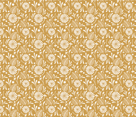 flora fabric by katherinecodega on Spoonflower - custom fabric