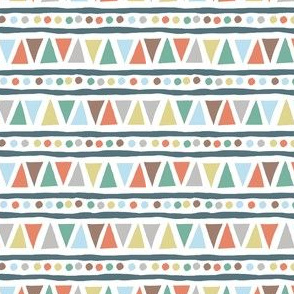 dots and triangles