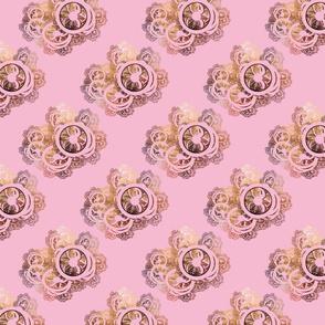 Pink Antique Lace