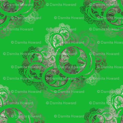 Green Antique Lace