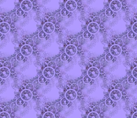 Violet Fascinator fabric by dlhoward on Spoonflower - custom fabric