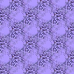Violet Fascinator