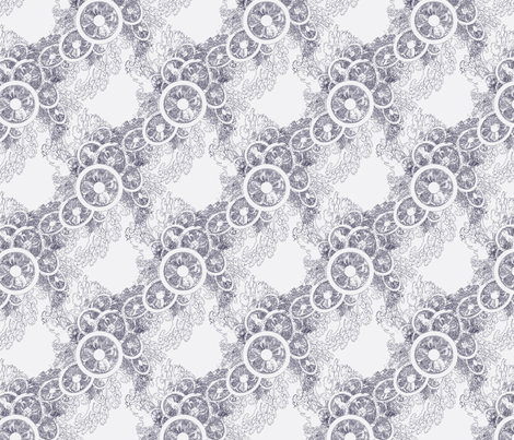 Grey Fascinator  fabric by dlhoward on Spoonflower - custom fabric