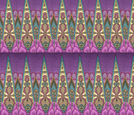 Proud As A Peacock fabric by kaydesignsfabric on Spoonflower - custom fabric