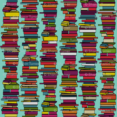book stack mint