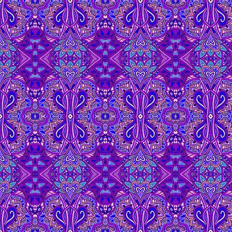 If Eggplant Ruled the World fabric by edsel2084 on Spoonflower - custom fabric