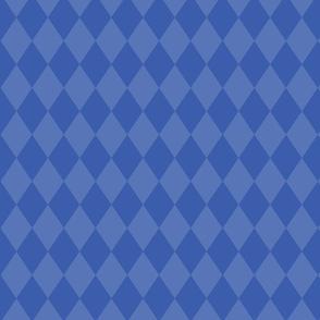 Dreams of Wonderland - Dark blue diamonds
