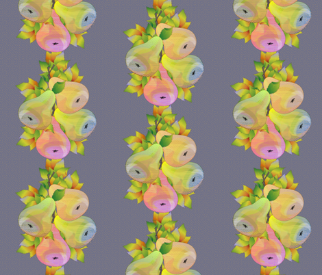 pear bounty fabric by glimmericks on Spoonflower - custom fabric