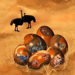 Ostrich_and_Eggs.
