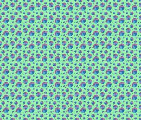 Dotty Triangles fabric by doiknowyou on Spoonflower - custom fabric