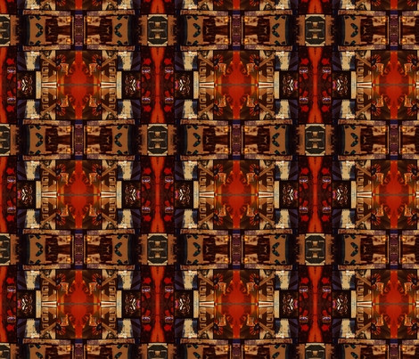 Fingers_Wheel_Mirror_web fabric by fabiennegood on Spoonflower - custom fabric