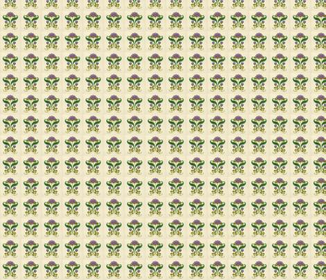 Art-Nouveau-15-200 fabric by fizzi on Spoonflower - custom fabric