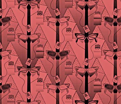 geek dress code tincture of merthiolate fabric by glimmericks on Spoonflower - custom fabric