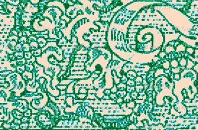 Sea-green Scroll