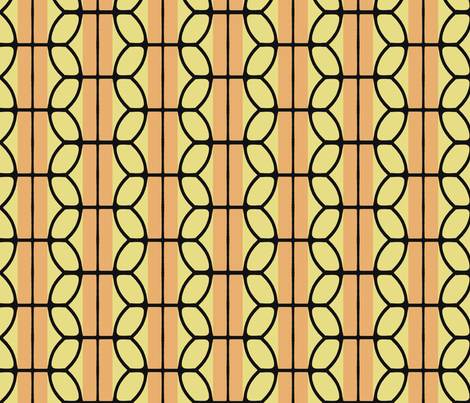 KB's_B-Ball_Stripes_v2 fabric by fireflower on Spoonflower - custom fabric