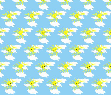 Sun1 fabric by retroretro on Spoonflower - custom fabric