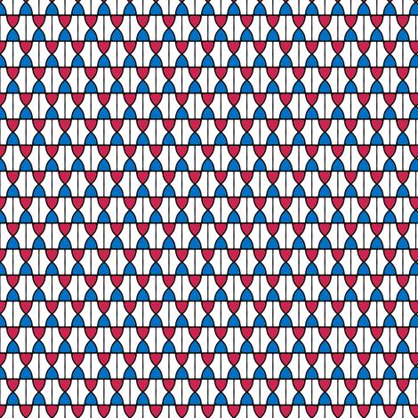 KB's_B-Ball_stripes  -quartered   v1 fabric by fireflower on Spoonflower - custom fabric