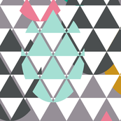 Drop eggs triangles