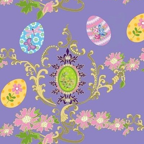 Abby's easter egg flora