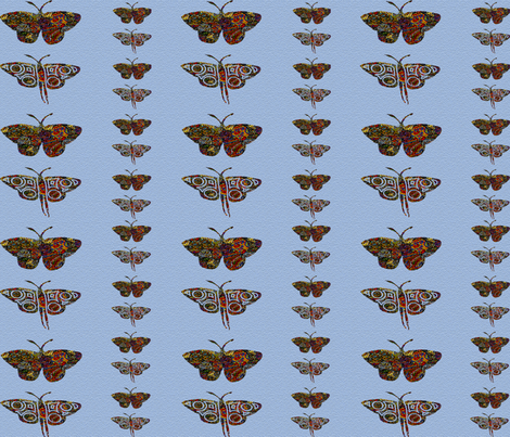 butterfly fabric by angelprint on Spoonflower - custom fabric