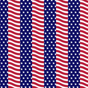Stars and Stripes Squares