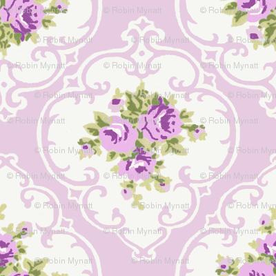 Purple Cameo Roses by Paris Bebe