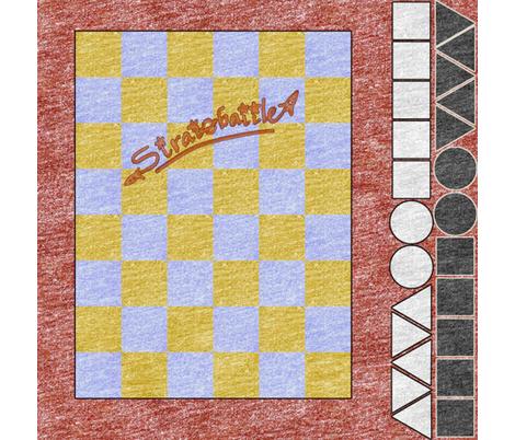 Stratobattle board fabric by weavingmajor on Spoonflower - custom fabric