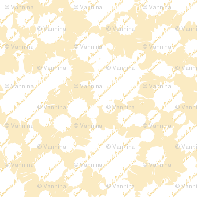 Coordinate Souvenirs de Paris (Buttercup)