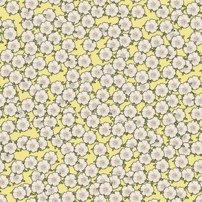 Ditsy Yellow for Art Nouveau Eggs