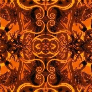 Abstract16-orange