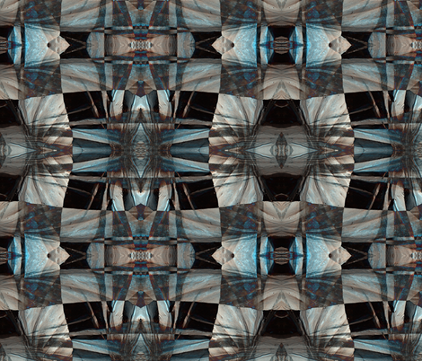 Mars Twisted fabric by whimzwhirled on Spoonflower - custom fabric