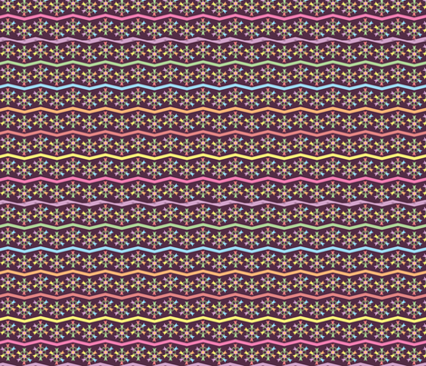 purple_tulips fabric by ronnyjohnson on Spoonflower - custom fabric