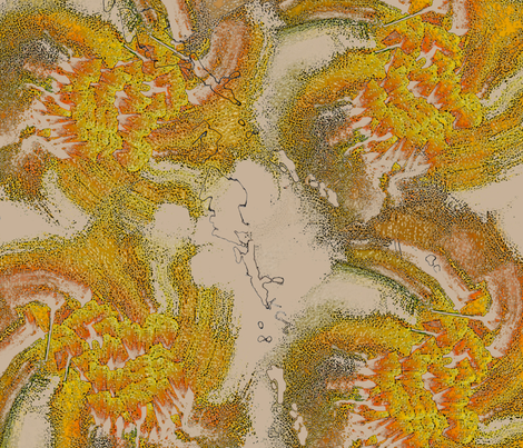 fire_warm fabric by angelprint on Spoonflower - custom fabric