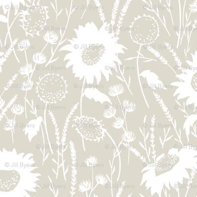 wildflowers - flax