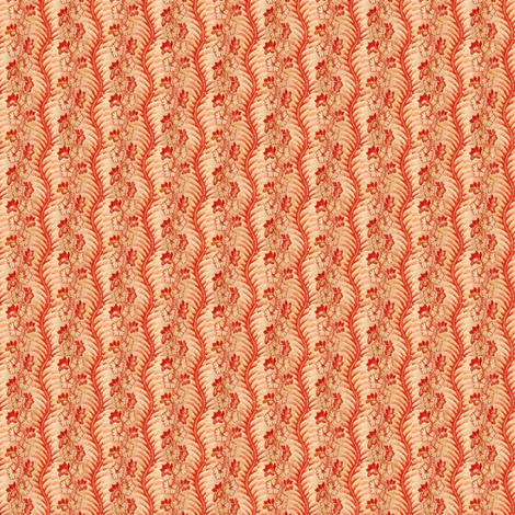 Peach Calico 1 fabric by the_cornish_crone on Spoonflower - custom fabric