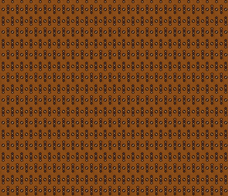 1838 Black & Brown Geometric fabric by the_cornish_crone on Spoonflower - custom fabric