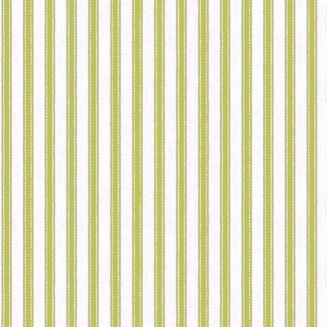 Ticking Stripe Avocado fabric by ragan on Spoonflower - custom fabric
