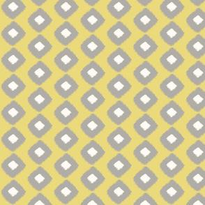 Ikat Trellis Citron