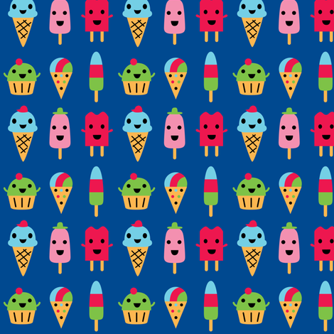 sweetest treats fabric by andibird on Spoonflower - custom fabric