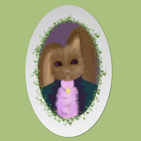 Peter Cottontail  fabric by peacoquettedesigns on Spoonflower - custom fabric