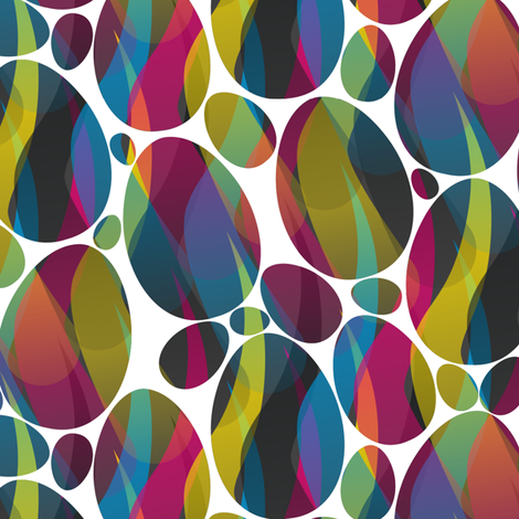 Mysterious Eggs fabric by candyjoyce on Spoonflower - custom fabric