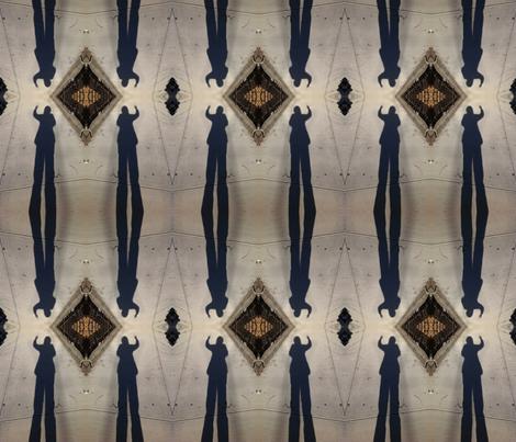 Shadow Diamonds fabric by relative_of_otis on Spoonflower - custom fabric