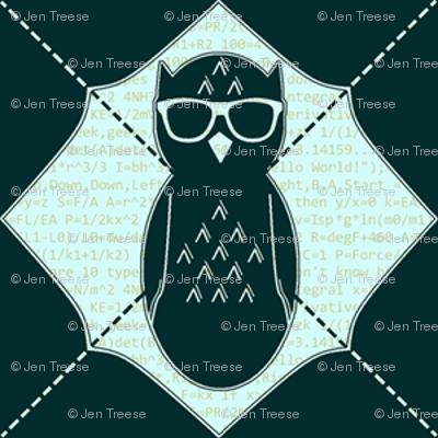 Equation Owl Chevron Invert Small