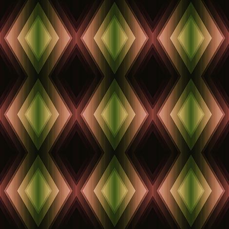 Green Garnets fabric by ravynscache on Spoonflower - custom fabric