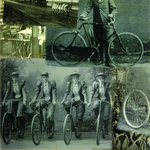 Victorian Bicycling: Large