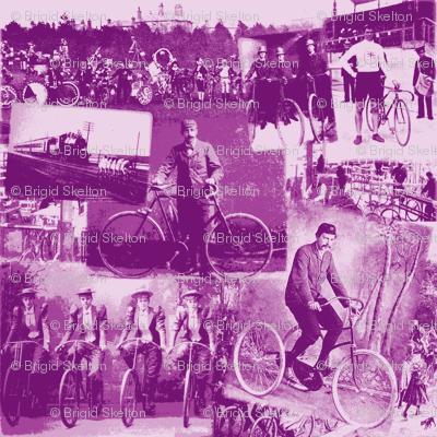 Victorian Bicycling: Medium Mauve (Purple)