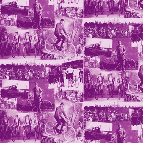 Victorian Bicycling: Medium Mauve (Purple)