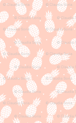 Pineapple - Blush Background (small)