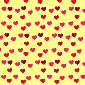 Blossoming hearts