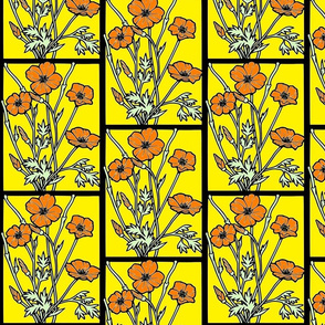 poppies_on_gold
